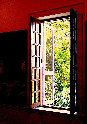 open window no CR